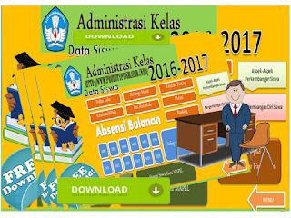 Aplikasi Administrasi Guru Kelas Plus Absensi Siswa