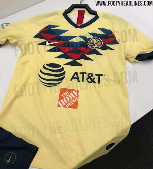 653c1d45d37 Nike Club America 19-20 Away Kit Released + Stunning Home + 3 Keeper ...