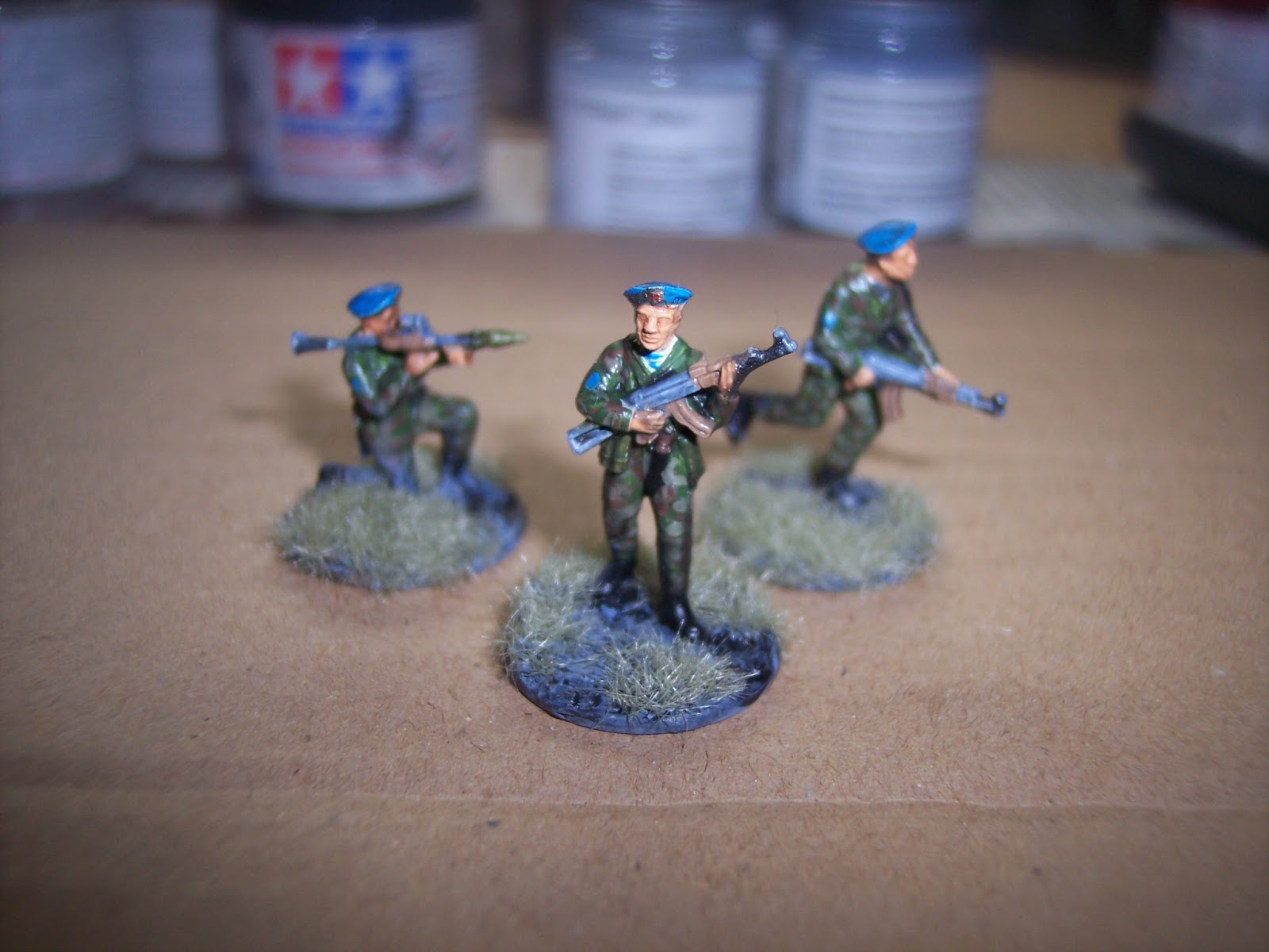 The Modelling Journal: How to paint 1/72 figures