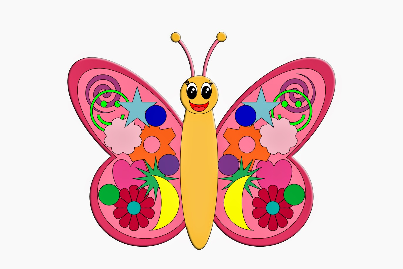 Coloring Pages Butterfly Free