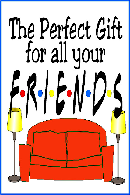 """If you need the perfect gift for one of your friends, take a page from the best Friends there are and check out this Friends Gift Guide.  You'll """"Pivot"""" your way to the perfect gift for your """"Lobster."""""""