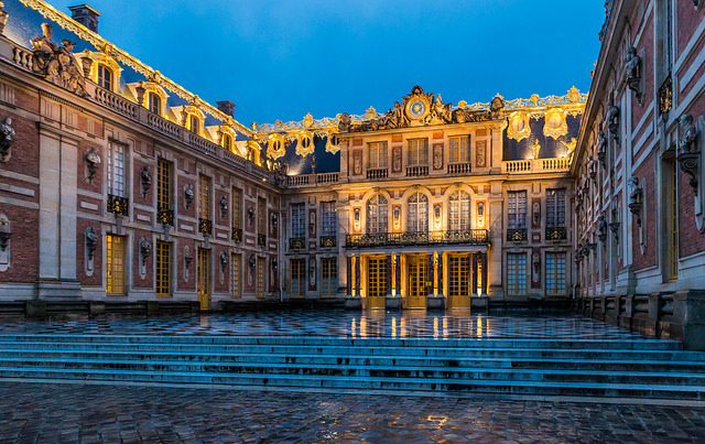 The Palace of Versailles is considered a famous landmark in Paris
