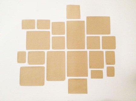 Langkah-Langkah Membuat Galeri Foto Dinding Modern Terbaru