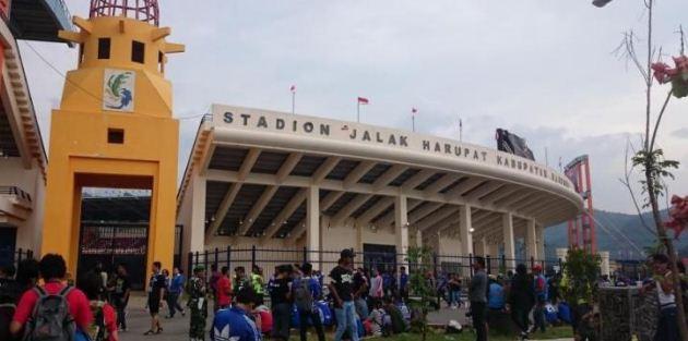 Panpel Persib Tinjau Stadion Si Jalak Harupat untuk Putaran Kedua Liga 1 2017