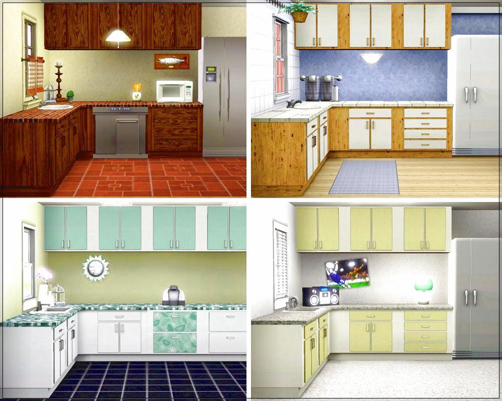 Dapur Rumah Minimalis Tanpa Kitchen Set Sederhana