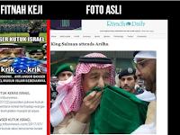 Menjijikan! Kelakuan Cebonger Fitnah Raja Salman!