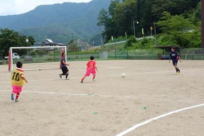 生坂サッカースクール OB対現役