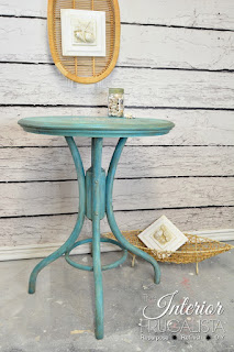 Vintage Bentwood Cafe Table