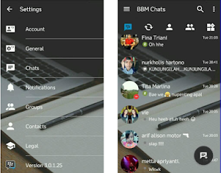 BBM Mod Transparan V3.0.1.25 Apk Terbaru