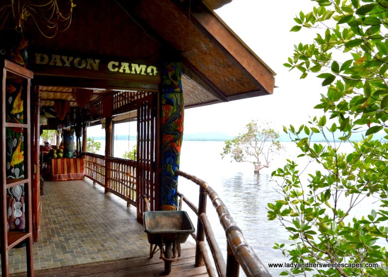 Badjao Seafront Restaurant's entrance