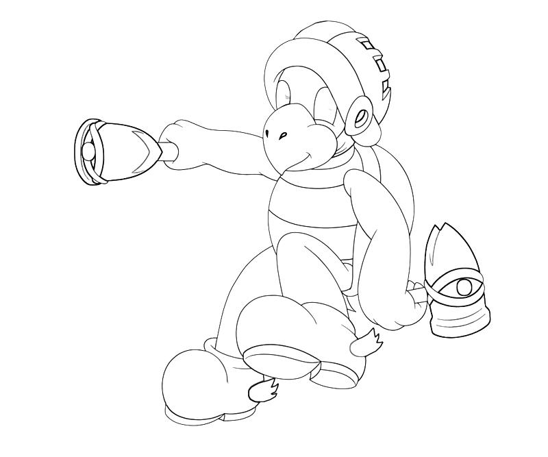 Hammer Bro Attack | Mario