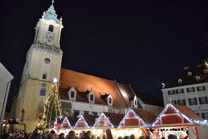Przedświąteczna Bratysława