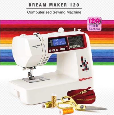 Usha Memory Craft 15000 with Digitizer MBX