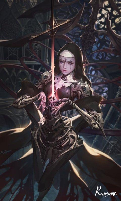 JeongSeok Lee artstation arte ilustrações fantasia ficção científica