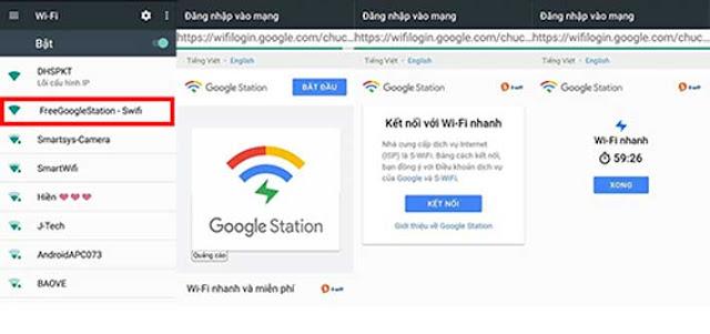 Những điểm truy cập Google Wifi miễn phí tại Việt Nam