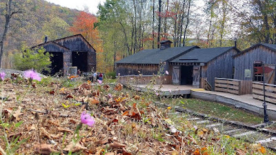 Logging camp at PA Lumber Museum