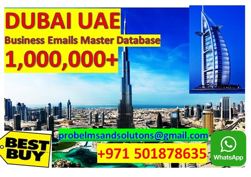 UAE EMAIL DATABASE EMAIL MARKETING BUSINESS DEVELOPMENT
