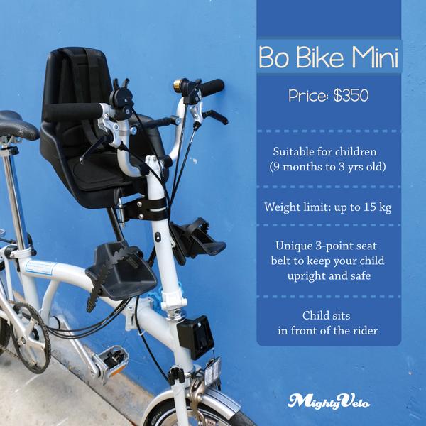 Hands On Bike Brompton M6r Bobike Mini Child Seat With Bryan Adapter And X Bar