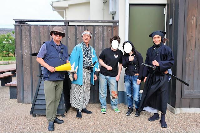 京都東映太秦映画村 忍者ショーサスケ ちゃんばら辻指南 侍 NINJA SAMURAI