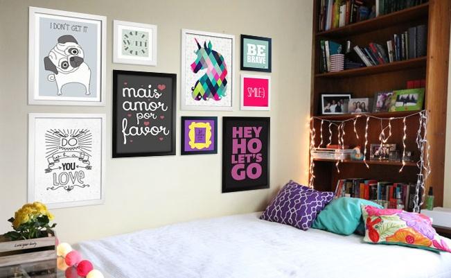 Inspira es de cen rios para videos blog mania pink - Posters decorativos ...