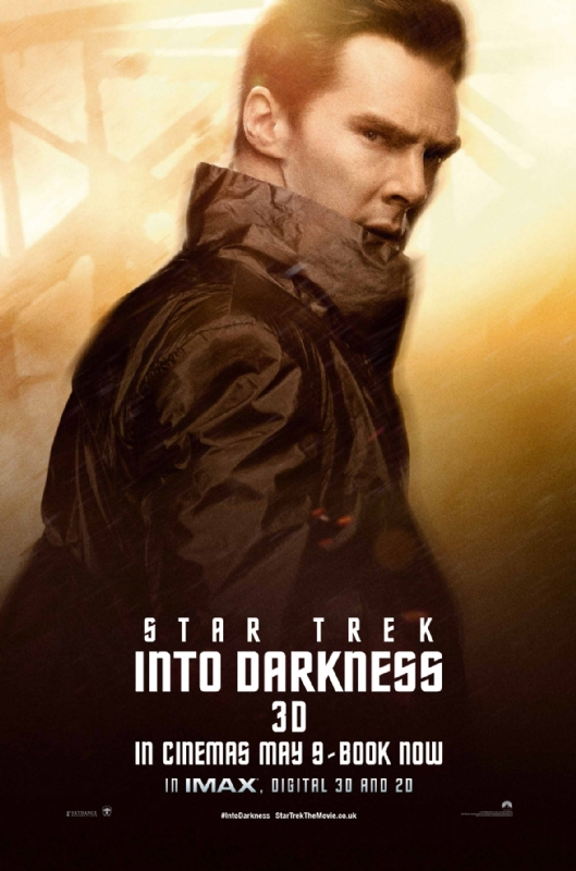 Star Trek Into Darkness - Khan - A Constantly Racing Mind
