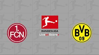Ver Nurnberg vs Borussia Dortmund En vivo 18 de Febrero 2019 Bundesliga