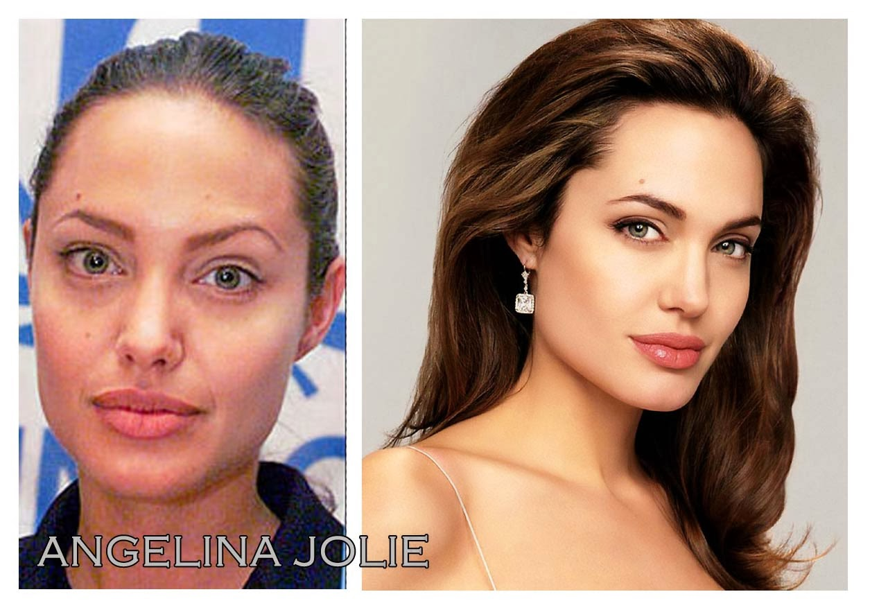 Angelina Jolie Ungeschminkt