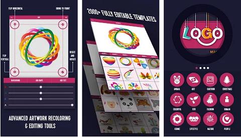 افضل 5 تطبيقات الاندرويد لتصميم الشعارات