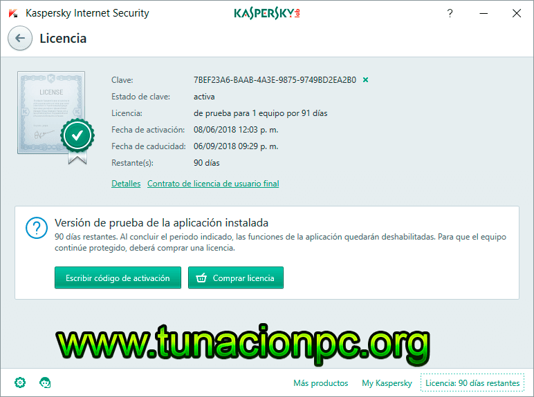 Kaspersky Internet Security 2018 Final