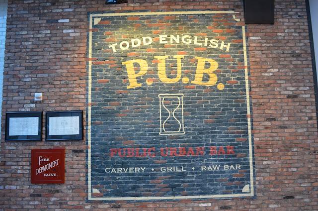 Todd English Pub, no Crystals.