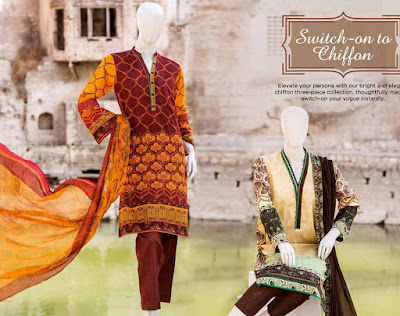 Junaid Jamshed Lawn 2017 Collection Latest Design