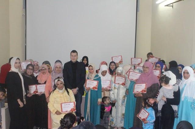 جمعية عماد المستقبل تحتفل باليوم العالمي للمرأة ببرشيد
