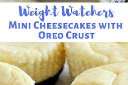 Weight Watchers Mini Cheesecakes with Oreo Crust