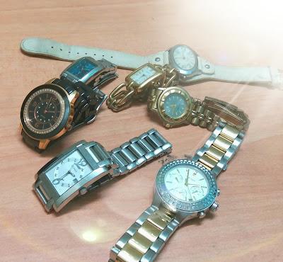 Cara Cuci Jam Tangan Yang Dah Berdaki