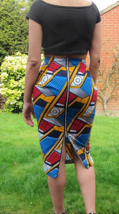 Short-Ankara-Pencil-Skirts-Styles=