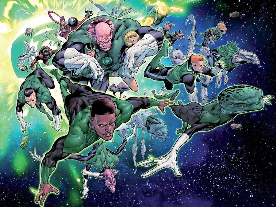 green lantern corps dc comics rafa sandoval