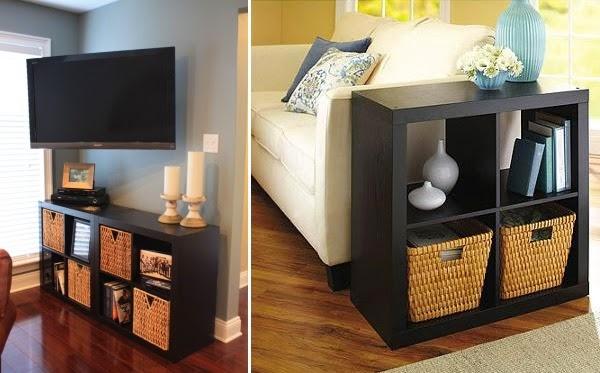Living Room Small Shelving Units Decorat Your Living Room Corner