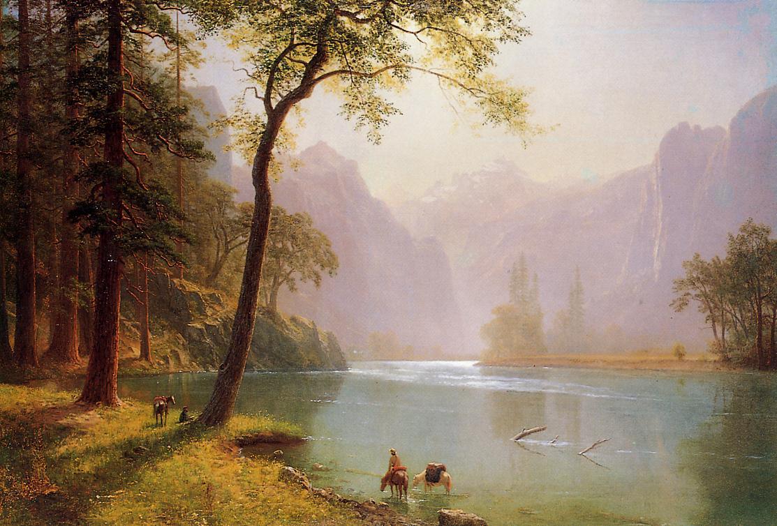 Nature Beautiful Wallpapers Albert Bierstadt Wallpapers