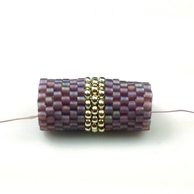 Peyote Stitch Tube