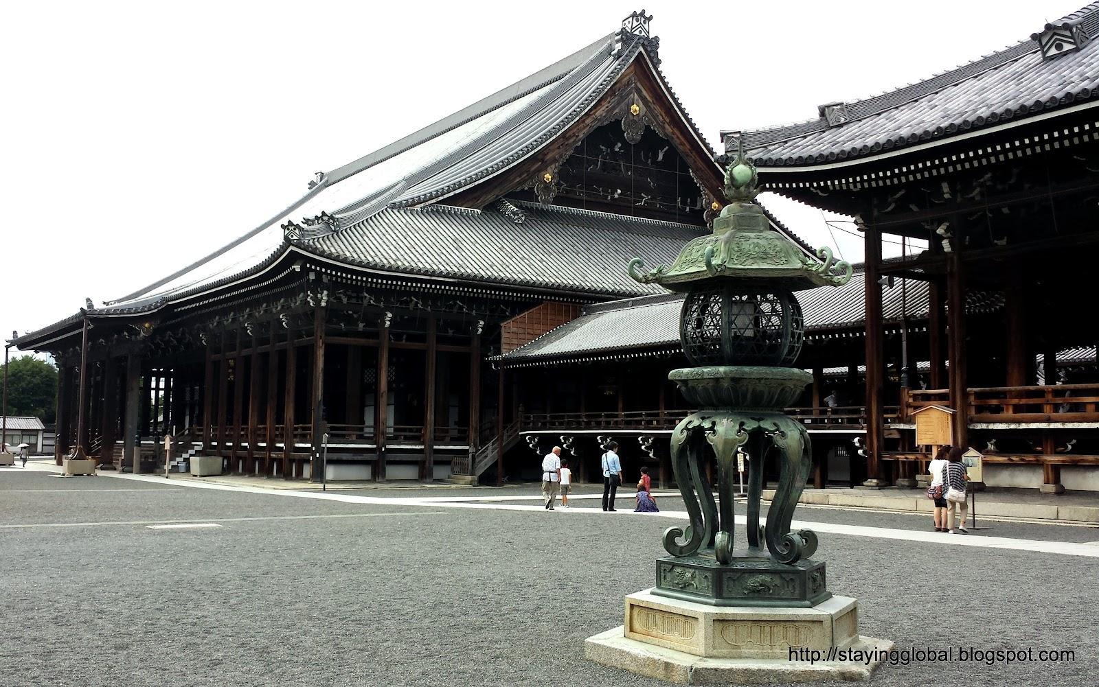 A Japanese Life: Kyoto : Nishi Honganji Temple