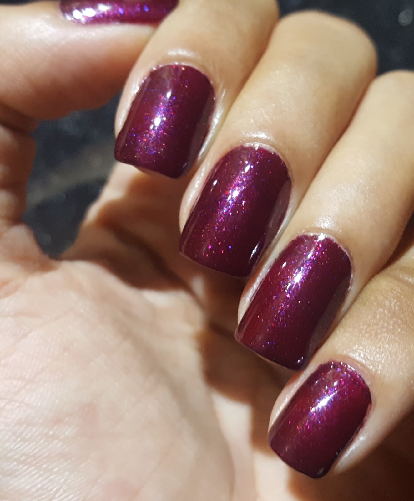Ahoy! Nails!!: Lakme Absolute Gel Stylist Nail Polish - Burgundy ...
