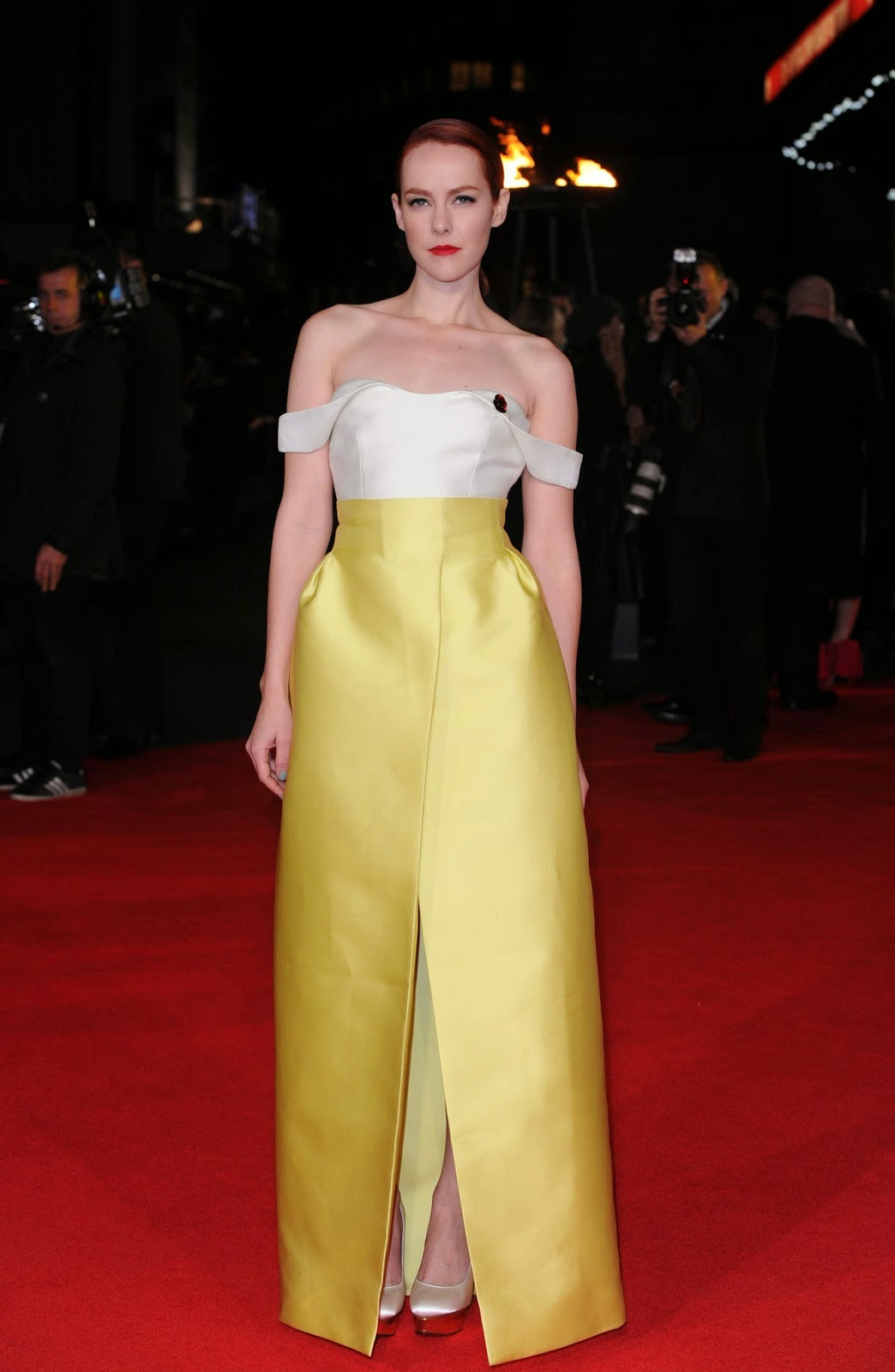 Jena Malone at Premiere of 'The Hunger Games: Mockingjay Part 1′ in London