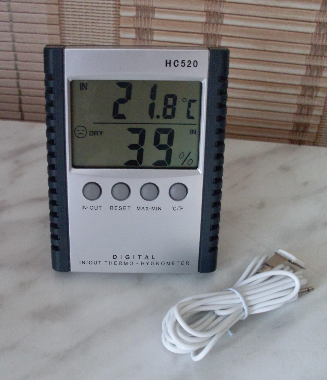Гигрометр с датчиком HD 520
