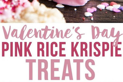 Pink Rice Krispy Treats