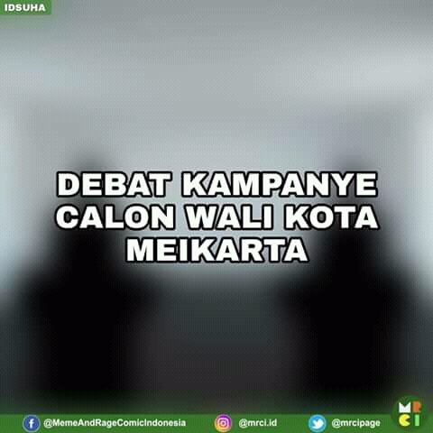 Komik Meme Episode Kampanye Calon WaliKota