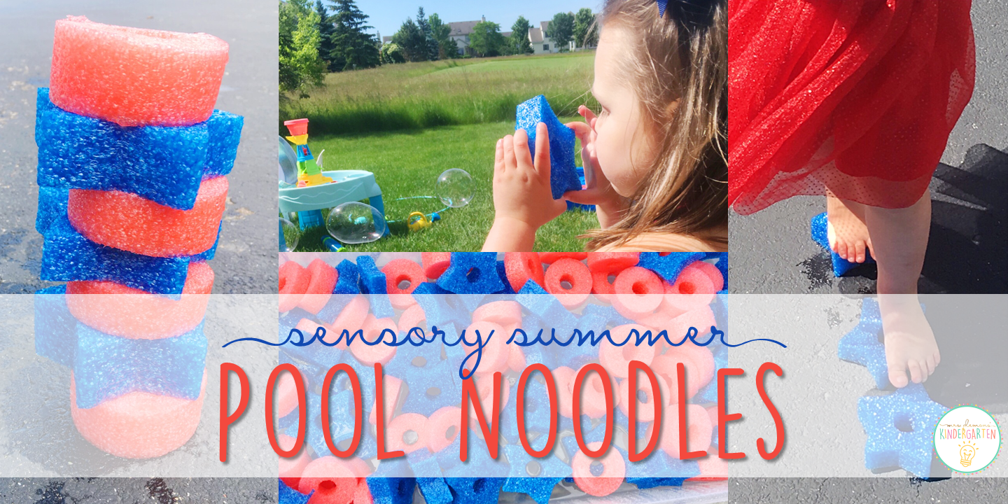 10 Ways to Play With Pool Noodles Sensory Summer Mrs Plemons