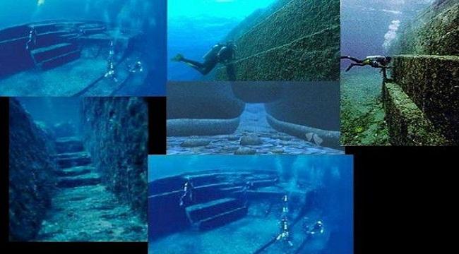 Ανεξήγητες υποβρύχιες δομές που δεν ταιριάζουν στην συμβατική ιστορία
