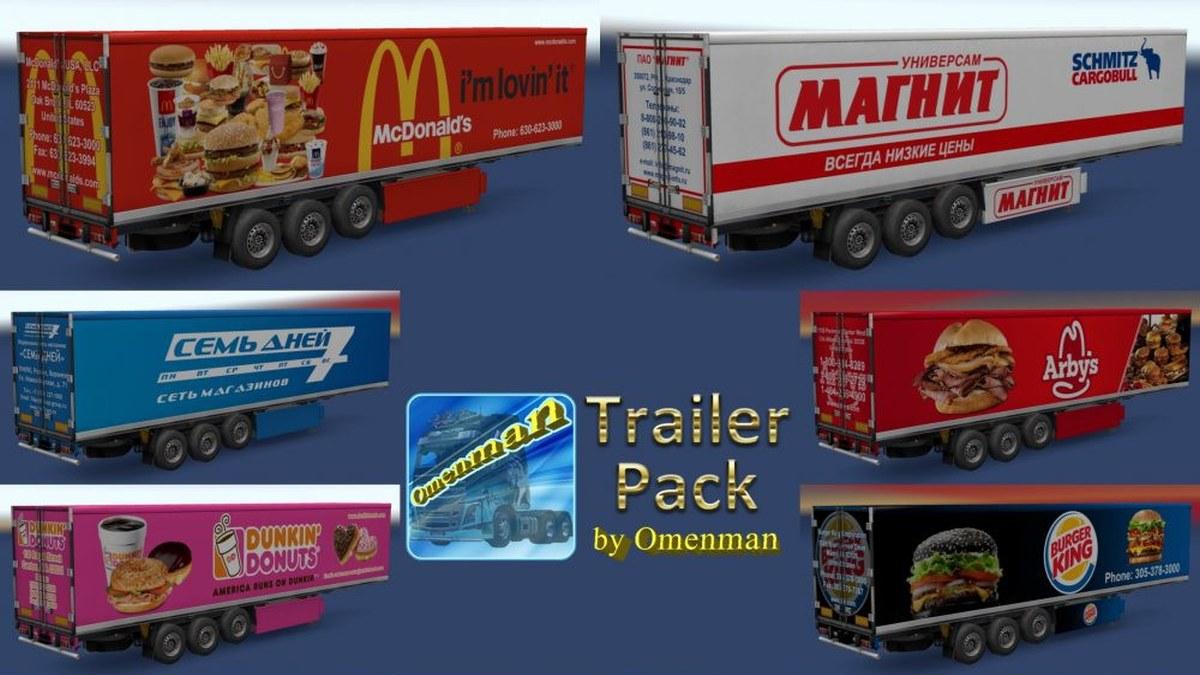 Foods Trailers Pack v 1.02.01