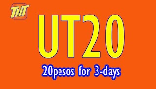 Talk N Text UT20 3 days Unlimited Tri-Net SMS + 100 Mins. Call