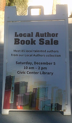 Local Authors Book Sale - December 05, 2015 - Scottsdale Civic Center Library